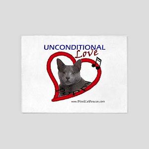 Poppy Unconditional Love 5'x7'Area Rug