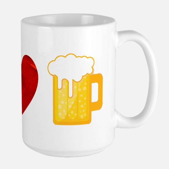 Peace Love Beer Mug