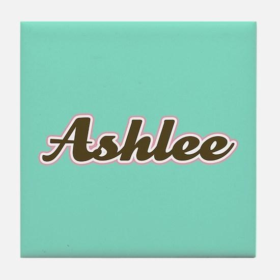 Ashlee Aqua Tile Coaster