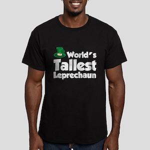 World's Tallest Leprechaun Men's Fitted T-Shirt (d