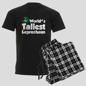 World's Tallest Leprechaun Men's Dark Pajamas