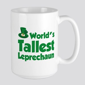World's Tallest Leprechaun Large Mug