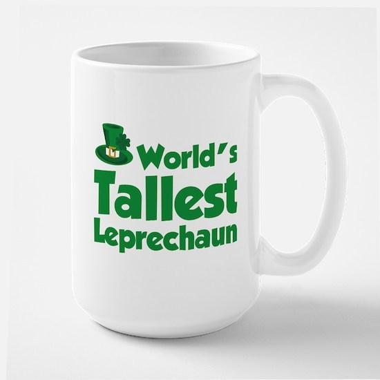 World's Tallest Leprechaun Large Mug