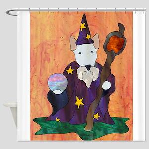 Bully Wizard Shower Curtain