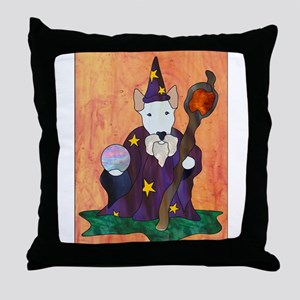 Bully Wizard Throw Pillow