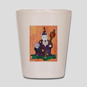 Bully Wizard Shot Glass