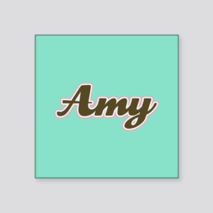 Amy Aqua Sticker