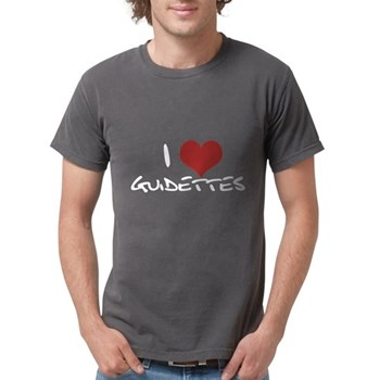 I Heart Guidettes Mens Comfort Colors Shirt