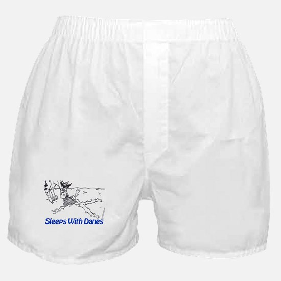 Sleeps With Danes Boxer Shorts