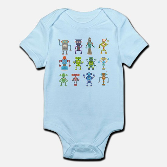 Robots by Phil Atherton Body Suit