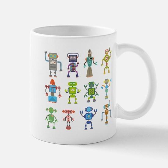 Robots by Phil Atherton Mug