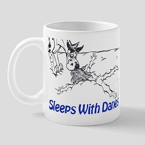 Sleeps With Danes Mug