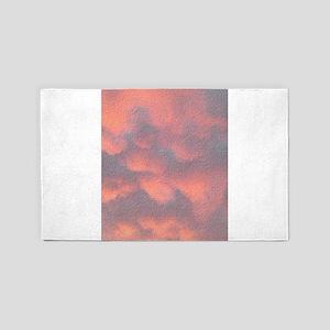 Stucco Sunrise Billings NW 3'x5' Area Rug