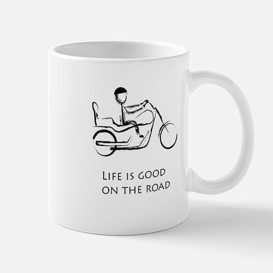 Motorcycle life is good Mug