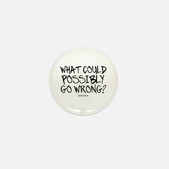 '/Sarcasm' Mini Button