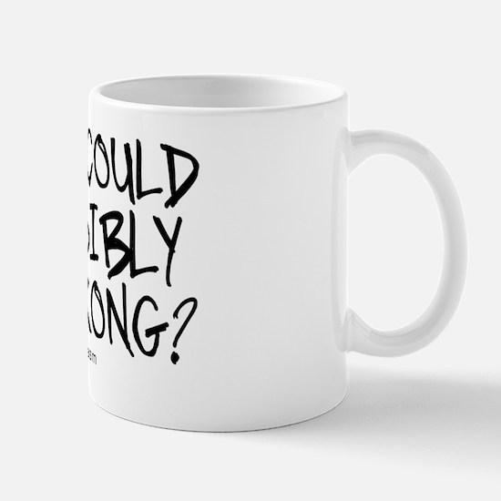 '/Sarcasm' Mug
