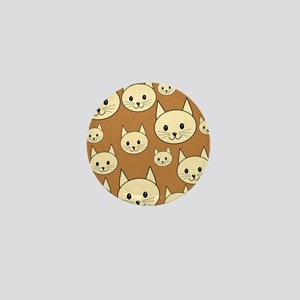 Cats. Neutral Colors. Mini Button