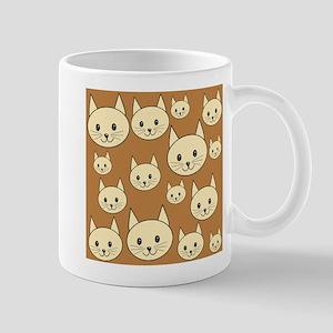 Cats. Neutral Colors. Mug