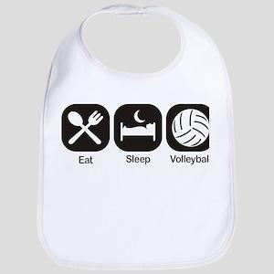 Eat, Sleep, Volleyball Bib