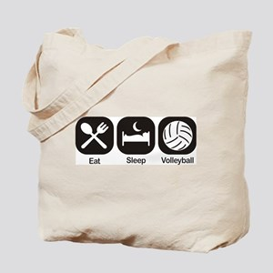 Eat, Sleep, Volleyball Tote Bag
