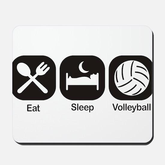 Eat, Sleep, Volleyball Mousepad