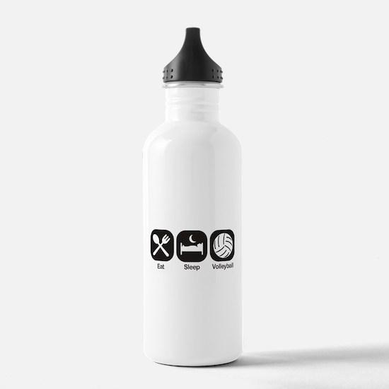 Eat, Sleep, Volleyball Water Bottle