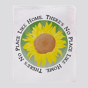 There's No Place Like Home Throw Blanket