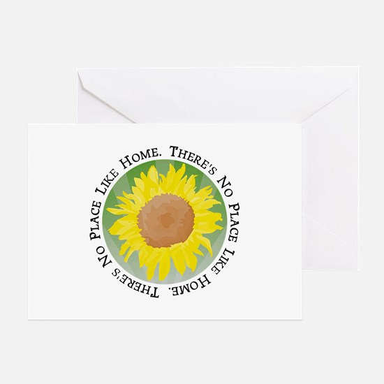 There's No Place Like Home Greeting Card