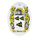 Beers Ornament (Oval)