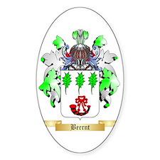 Beernt Sticker (Oval)