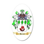 Beernt 35x21 Oval Wall Decal