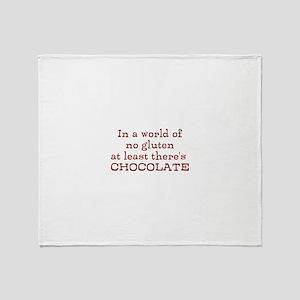 World of no gluten Throw Blanket