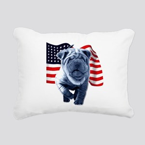 Shar-Pei Rectangular Canvas Pillow