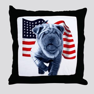 Shar-Pei Throw Pillow