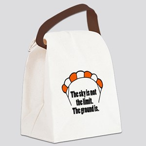 'Not The Limit' Canvas Lunch Bag