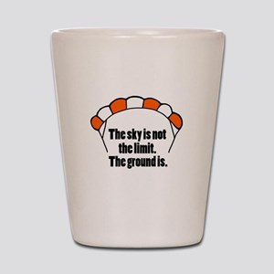 'Not The Limit' Shot Glass