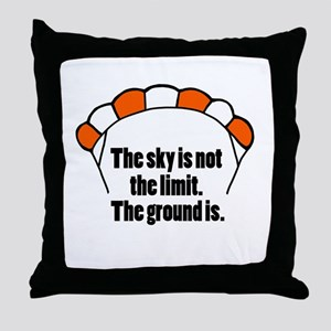 'Not The Limit' Throw Pillow