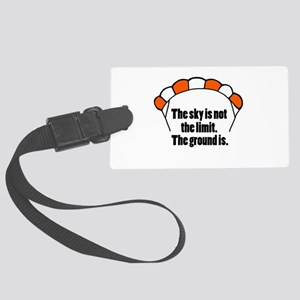 'Not The Limit' Large Luggage Tag