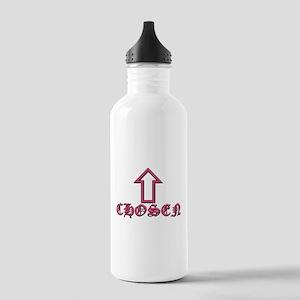 Chosen Pink 1L Stainless Steel Water Bottle