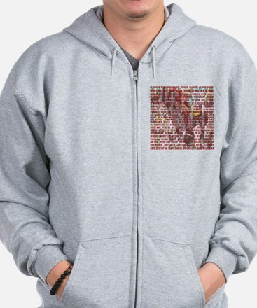 Horses of the Year 1887-2012 II Zip Hoodie