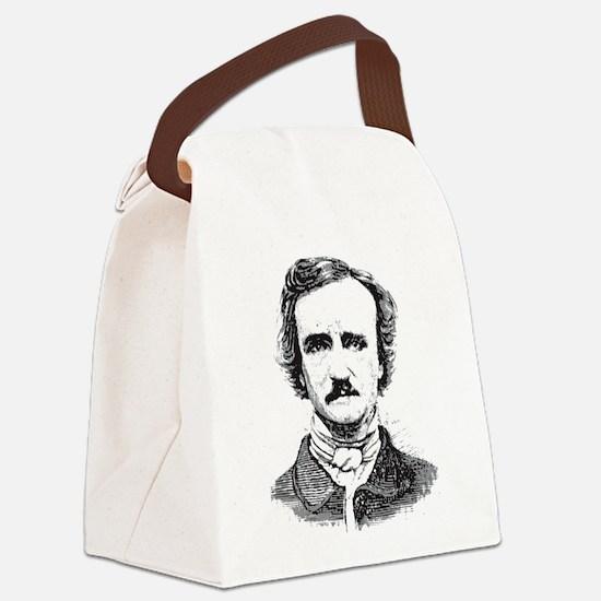 Edgar Allan Poe Canvas Lunch Bag