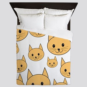 Ginger Cats. Queen Duvet