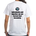God Becoming White T-Shirt