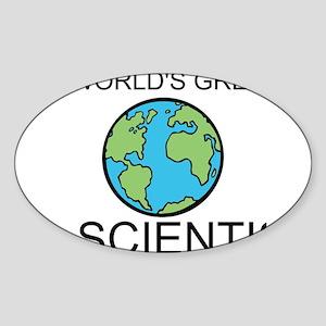 Worlds Greatest Scientist Sticker