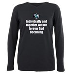 God Becoming Plus Size Long Sleeve Tee