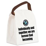 God Becoming Canvas Lunch Bag