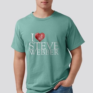 I Heart Steve Webber Mens Comfort Colors Shirt
