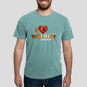 I Heart Witney Carson Mens Comfort Colors Shirt
