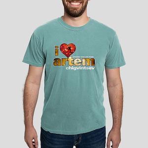 I Heart Artem Chigvintsev Mens Comfort Colors Shir