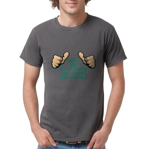 Two Thumbs Mens Comfort Colors Shirt